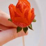 Rosas de fresa… wow!