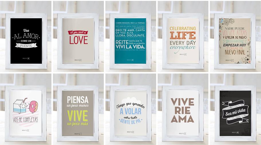 Escribe en las paredes las truquideas de nuria - Cuadros para cocina para imprimir ...