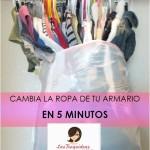 Cambia la ropa de tu armario en 5 minutos